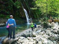 Пикник у водопада на реке Абаша