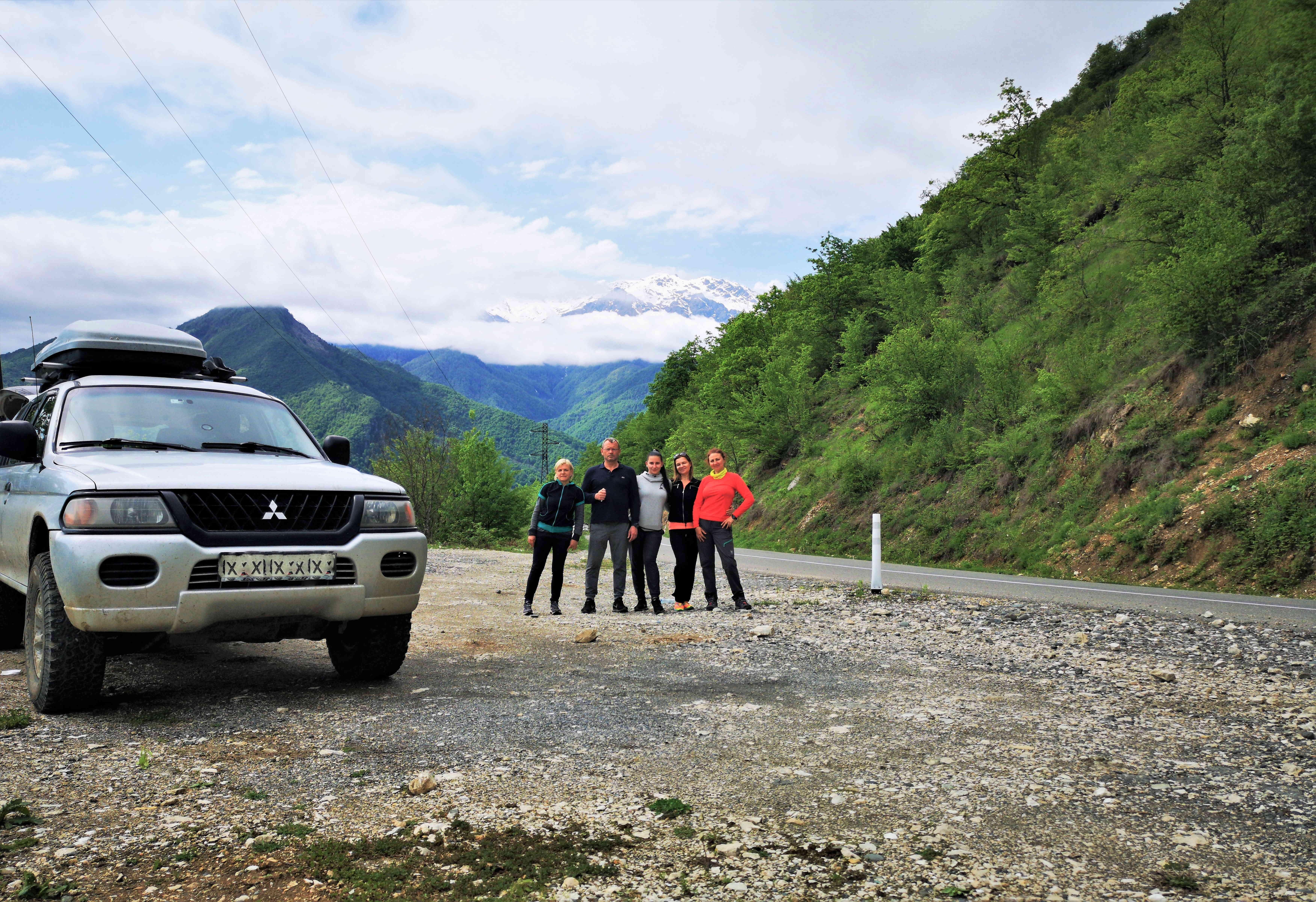 На перевале в Рача-Лечхуми