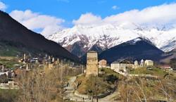 Местиа - город сванских башен