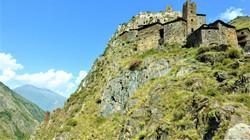 Хевсурети, удивительный мертвый город Муцо на верхушке высоченной скалы