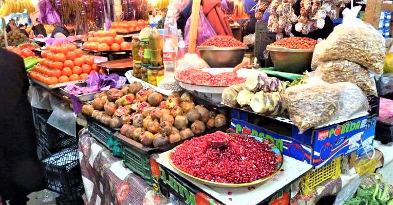 Зеленый рынок в Кутаиси