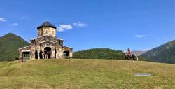 Храм Св.Георгия - единственный в Тушети