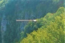 Смотровая площадка в каньоне Окаце