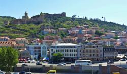 Старый Тбилиси и крепость Нарикала.