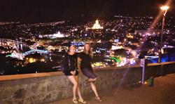 Ночной и душевный Тбилиси