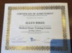 Ozone Certificate-San Diego.JPG