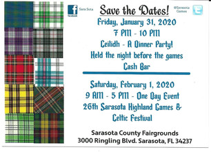 Ceilidh & Games Information