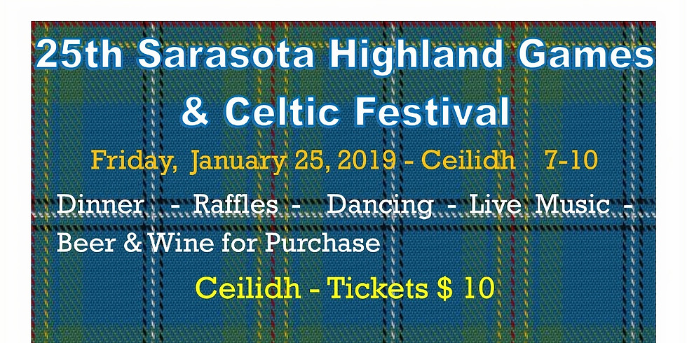 Friday Evening Ceilidh (It's a Party!)
