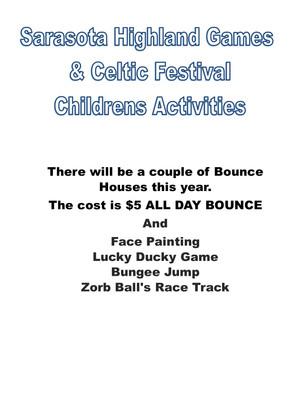 Children's Area This Year