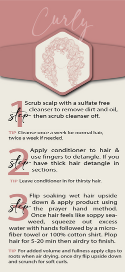 Curly - Hair Routine