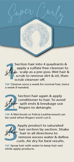 Super Curly - Hair Routine