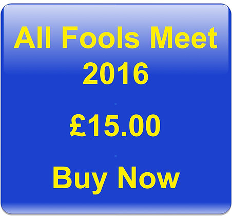"""All Fools Meet 2016 with """"Early Bird"""" Discount"""