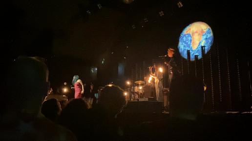 Lille klip fra koncerten