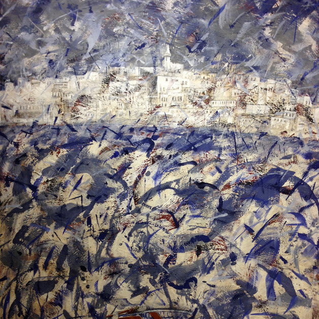 """""""Jaffa"""" (2013) - 122 X 100"""
