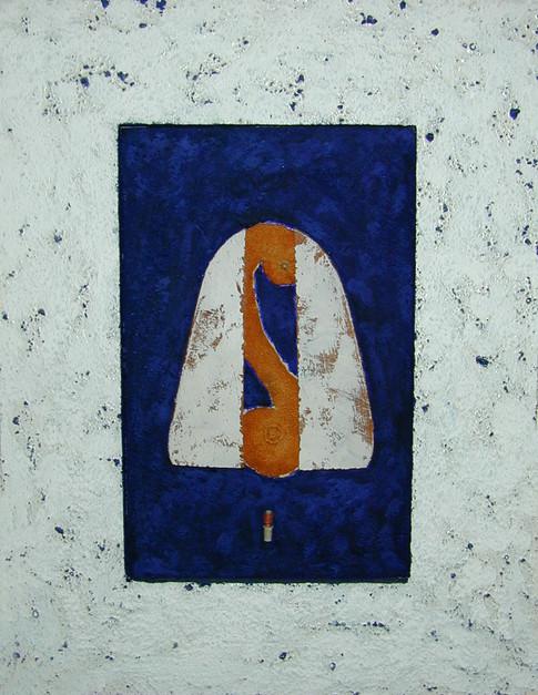 """Naissance"" (2000) - 29 X 51"