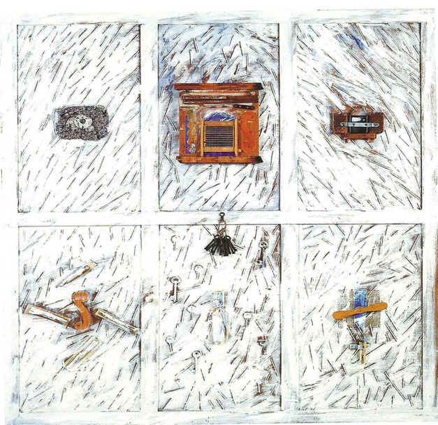 """""""Untitled"""" (1992) - 124 X 152,5 X 6,5"""