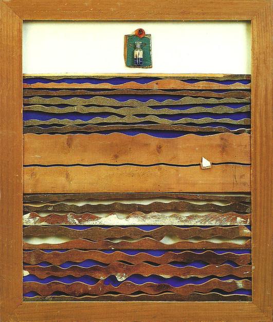 """""""Untitled"""" (1990) - 116 X 99 X 10"""