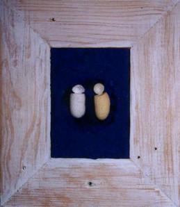 """Silk Chat"" (2001) - 20 X 24"