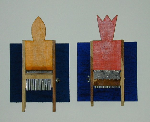"""""""The Queen and The King"""" (2001) - 20 X 28"""
