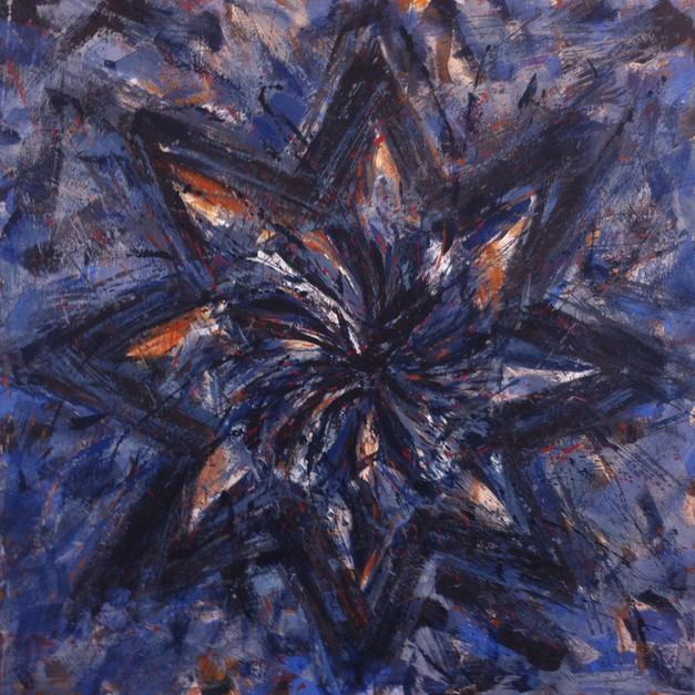 """Icon of Baal & Ashtar"" (2013) - 122 X 122"