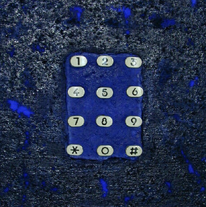"""Keep Calling"" (2001) - 20 X 20"
