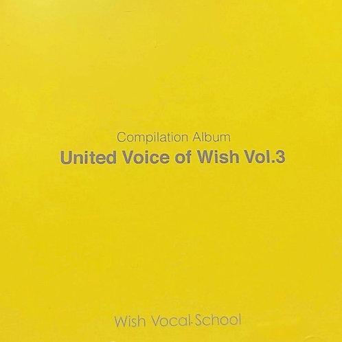 コンピアルバム United of Wish Vol.3