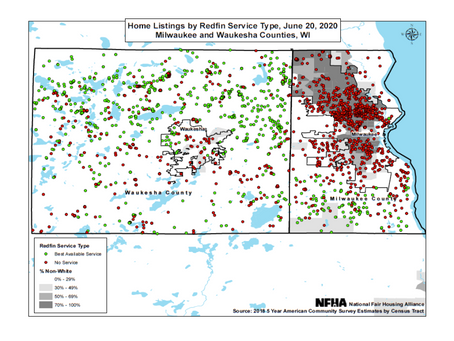 Press release: Federal Lawsuit Filed Against Redfin to Stop Redlining