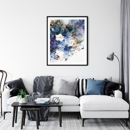 Riflessivo  Fine art print available on Saatchi Art as a reproduction of the original painting.  Printed on 100% cotton linters (short fibers) paper, 140 lb, soft color fidelity, archival quality
