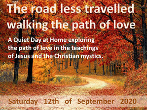 """Join us for """"The Road less Travelled - Walking the Path of Love"""""""