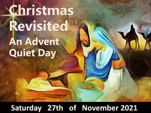 Upcoming Quiet Day 27th November with Daniel Muñoz