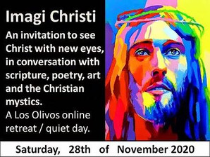 Join us for Imagi Christi: Novemer 28th - A Quiet Day retreat at home