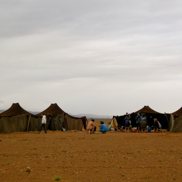 Staying with Berber Tribesmes in the Sahara