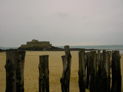 St Malo coastline