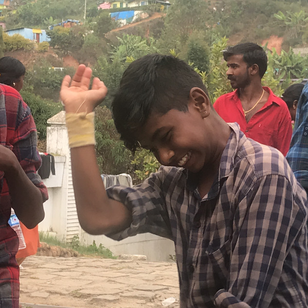 Street festival in Kerala
