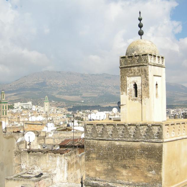 A city view of Fes