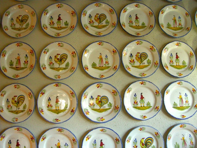 Quimper Faience (Ceramic-ware) is a well-known collectors item
