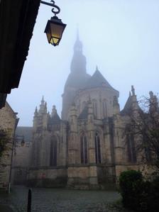 Misty mornings in Dinan