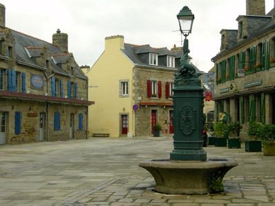 Beautiful village of Concarneau