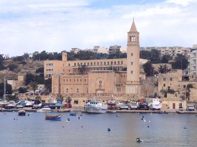 The Port town of Marsaxlokk