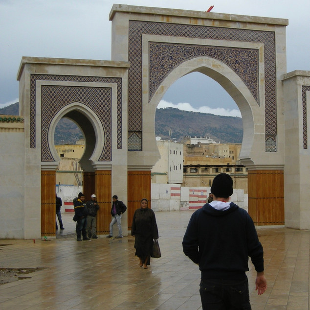 The Blue Gate of Fes, Morocco