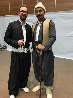 Traditional Kurdish clothing is commonly worn even in day-to-day life