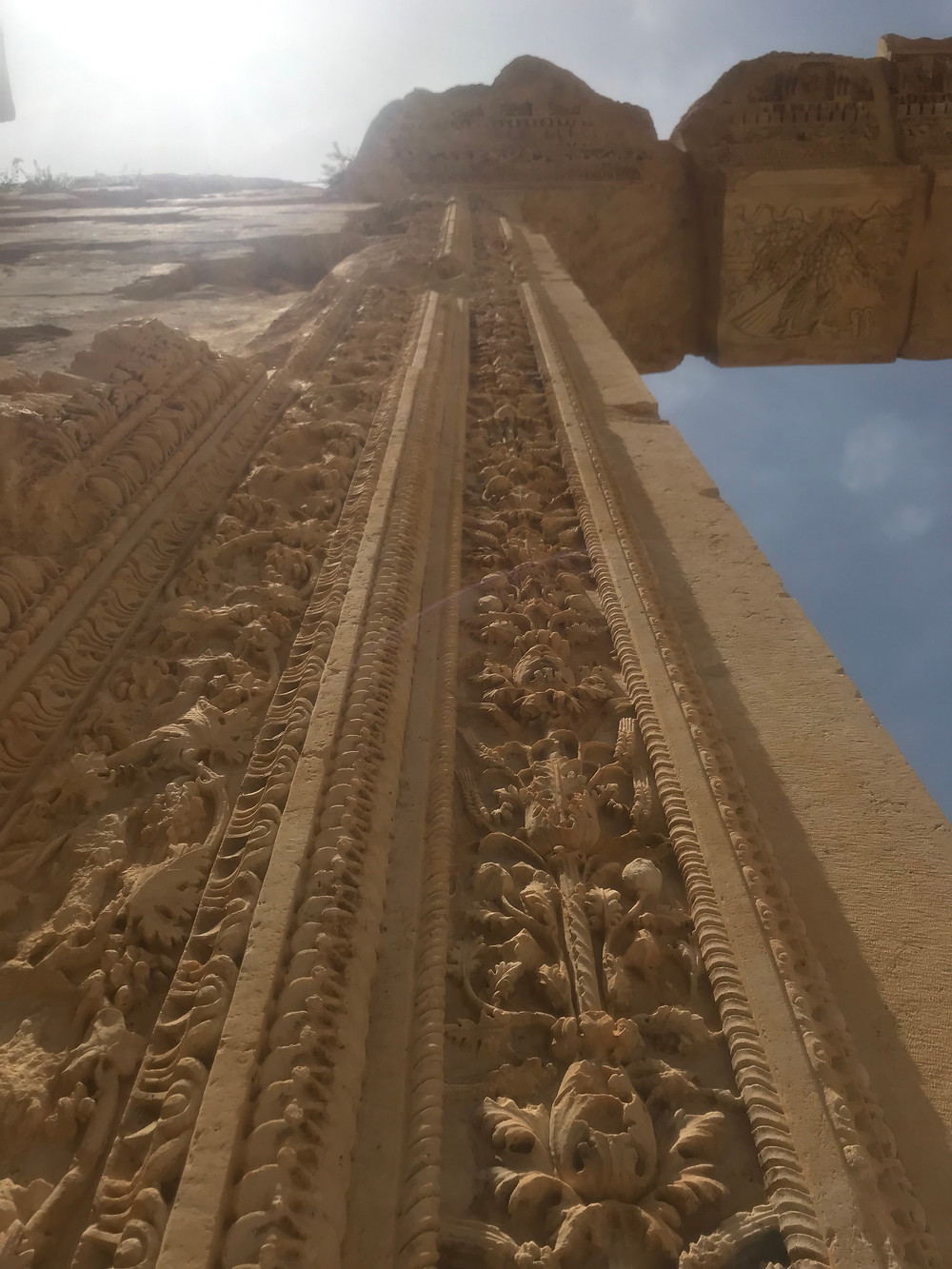 Lebanon, Roman ruins, doorway
