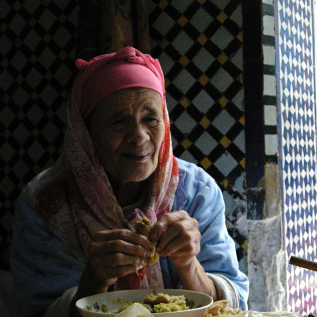 Local woman in Fes, Morocco