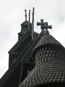 Stave churches in Oslo's cultural park
