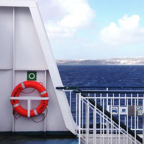 Ferry boat to Gozo Island