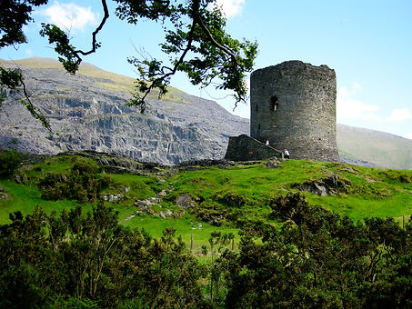 Dolbadarn Castle, North Wales