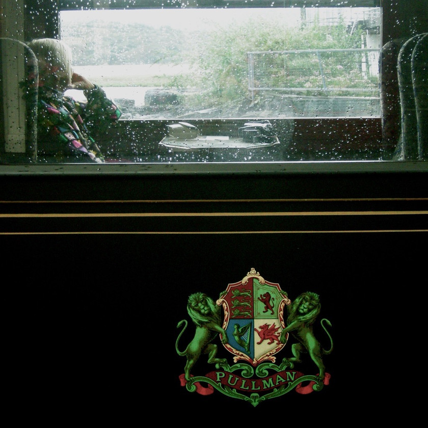 Classic train carriage in north Wales