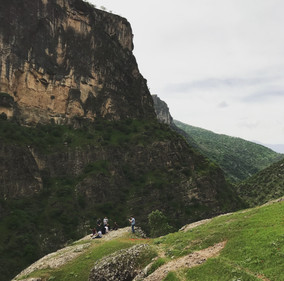 Green in spring, Kurdistan's mountains defy stereotypical images of the Iraqi landscape