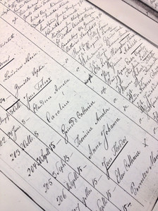 Researching family history in Kristansand archives