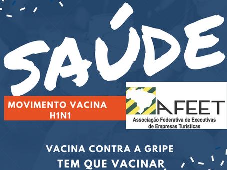 AFEET BRASIL INCENTIVA SUAS ASSOCIADAS PARA A VACINAÇÃO CONTRA A GRIPE